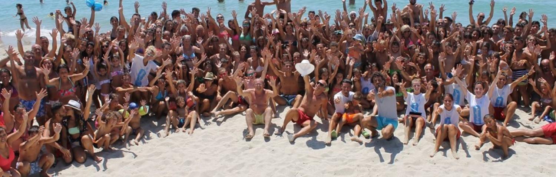 Spiaggia in festa